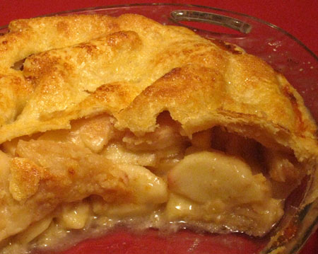 Recipe link: Perfect Pie Crust and Old-Fashioned Apple Pie