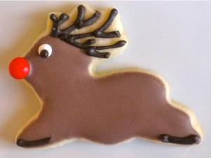 Rudolph Reindeer Cookie